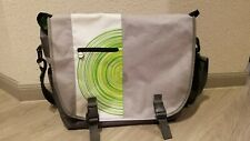 Microsoft XBOX 360 Official Messenger Carrying Travel Bag W/Gray Shoulder Strap