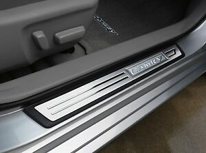 Genuine Toyota Door Sill Enhancements for 2012-2017 Camry-New, OEM