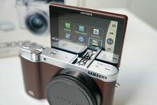 Samsung nx3000 NX 3000 Fotocamera Chassis/Body Marrone Top!