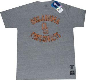 Oklahoma State Cowboys Heathered Tri-Blend Adidas T Shirt New tags $30