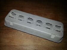 50 Plain Large Chicken Egg Cartons. 2 x 6 Moulded Paper.  Made In U.S.A.