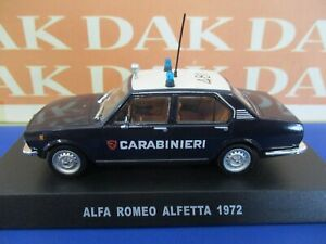 Die cast 1/43 Modellino Auto Carabinieri Alfa Romeo Alfetta 1972