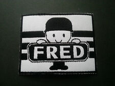 HEAVY METAL PUNK ROCK MUSIC SEW / IRON ON PATCH:- HOMEPRIDE FRED