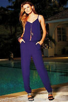 New Womens Purple NEXT Jumpsuit Size 12 10 8 RRP £30