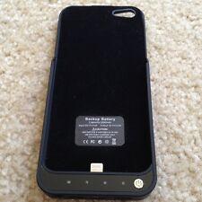 @US SELLER@  Power Pack External Battery case for Apple iPhone 5G Black