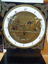 Rare-Austrian Animated Clock c1795-30-hour-2 bells-Silk Thread Suspension