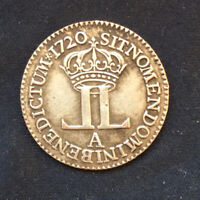 """Superb Louis XV *1720* Livre d'argent dite """"de la Compagnie des Indes"""" Paris"""