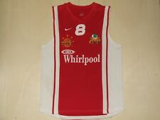 Maillot Maillot Débardeur Basket-Ball Sport Whirlpool Varese N°8 Taille L