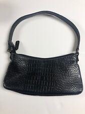 Nine West Black Skin Small Handbag