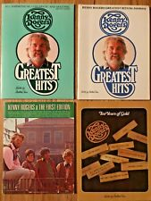 4 Rare songbooks Kenny Rogers &The First Edition Harmonica AutoHarp Sheet Music