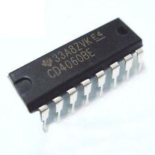 10PCS Texas Instruments CD4060BE CD4060 - Binary Counter/Divider/Oscill - New IC