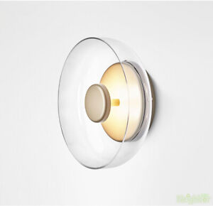 Nordic style Glass Wall light LED Wall sconce LED Wall Lamp for cafe
