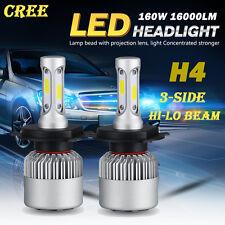 1 Set 160W 16000lm CREE LED Headlights Kit H4 9003 HB2 Hi/Low Beam Bulbs 6000K