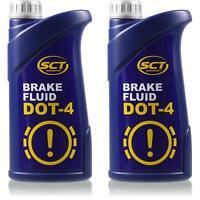 2x1 Liter SCT Bremsflüssigkeit DOT 4 910g Brake Fluid SAE J 1703 FMVSS 116