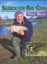 MILES TONY SPECIMEN FISHING BOOK SEARCH FOR BIG CHUB ANGLING hardback NEW