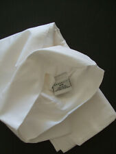 DREAMFIT NEW  WHITE COTTON  KING PILLOWCASES SET OF TWO    made in  USA