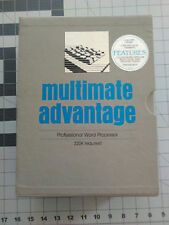 Multimate Advantage 1 & 2 Software on 5.25 and 3.5 disks - all manuals included
