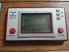 NINTENDO GAME AND & WATCH Chef 1981 JAPAN