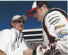 NASCAR RICHARD CHILDRESS HAND SIGNED AUTHENTIC 8X10 PHOTO COA DALE EARNHARDT