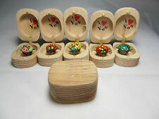 """Wooden I Love You Wiggly Spotted Polka-Dot Lady Bug-In-A-Box 1.75"""""""