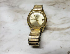 1960's Bulova Accutron men's gold wristwatch