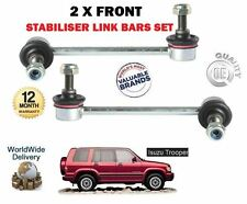 FOR ISUZU TROOPER 3.0TD 3.1DT 1991-2006 LEFT + RIGHT 2 FRONT STABILISER LINK BAR