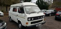 VOLKSWAGEN TRANSPORTER T 25  CAMPERVAN ,1 PREVIOUS KEEPER , ORIGINAL ENGINE