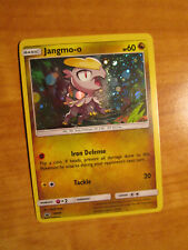EX Pokemon JANGMO-O Card BLACK STAR PROMO Set SM40 HOLO Sun and Moon Blister TCG