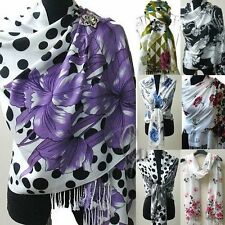 Unbranded Pashmina Floral Scarves and Wraps for Women