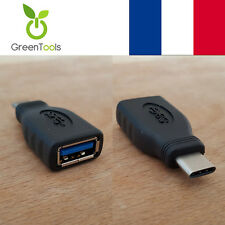 Adaptateur MacBook Air USB 3.1 C Mâle vers USB 3.0 Femelle