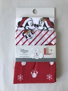 Disney Mickey Minnie Baby 3 Pack Muslin Squares Christmas Gift New 2020 Primark