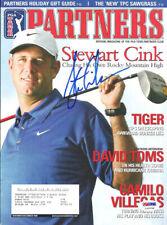 Stewart Cink Autographed Signed 2006 PGA Partners Magazine PSA/DNA COA L10839