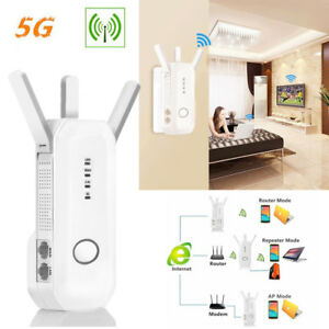 750Mbps WiFi Router WiFi Range Extender 5GHz High Speed Wireless Internet Router