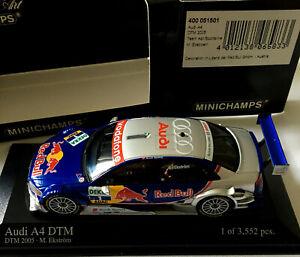 AUDI A4 DTM 2005 TEAM ABT SPORTSLINE M.EKSTROEM MINICHAMPS 400051501 1/43 SCALE