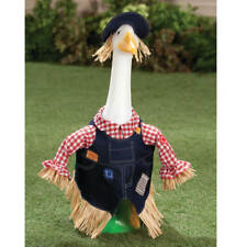 Cute Scarecrow Goose Outfit -Clothes Garden Decor Outdoor Home Lawn Statues Fall