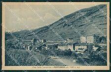Brescia Valle Camonica Pontagna cartolina QK6933
