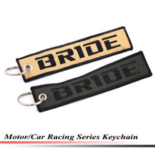 Car Style Bride Racing Key Ring Embroidery Keychain Luggage Tag Keyring Tags 51#