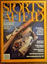 Sports Afield December 1986- High-Tech Icefishing- Blackpowder Dream Books-