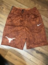 Texas Longhorns Nike Dri Fit Shorts Men's Large Burnt Orange Basketball