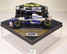 ONYX Formula 1 Models 1/43 Nr.256 Williams Renault Formel 1 Coulthard OVP #9413