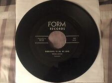 """JOANNA DEAN """"Everything to Me, My Love / Same (instrumental) FORM 101 VG-"""