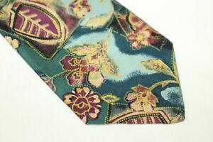 RIVE GAUCHE Silk tie Made in Italy F14370