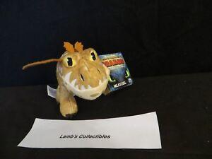 "DreamWorks How to train your Dragon The Hidden World 7 1/2"" meatlug Plush toy"