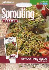 Johnsons - Vegetable - Radish Mooli (Sprouting Seeds) - 25g Seeds
