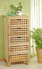 Schrank mit 5 Schubladen aus Walnusholz, Kommode aus Holz