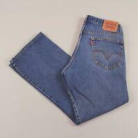 Vintage LEVI'S 517 Blue Regular Bootcut Men's Worker Jeans 34W 30L 34/30 /J51007
