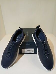Cole Haan Grand OS Casual Oxfords OG Sport Perftrner II Marine Blue Mens 8 M New