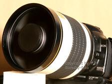 Spiegeltele 800mm per Pentax k100d k110d K-m k10d k20d k-7 k-5 k200d ecc.
