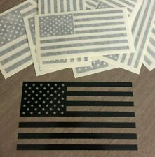 American Flag Sticker Decal - Custom Vinyl Die Cut Graphic USA Fits Jeep Window