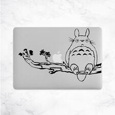 Totoro Calcomanía Para Macbook Pro Pegatina de vinilo Laptop Mac Notebook piel Anime Ghibli